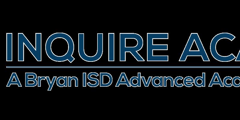 INQUIRE Academy Horizontal blue logo