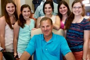 fazzino family with dad